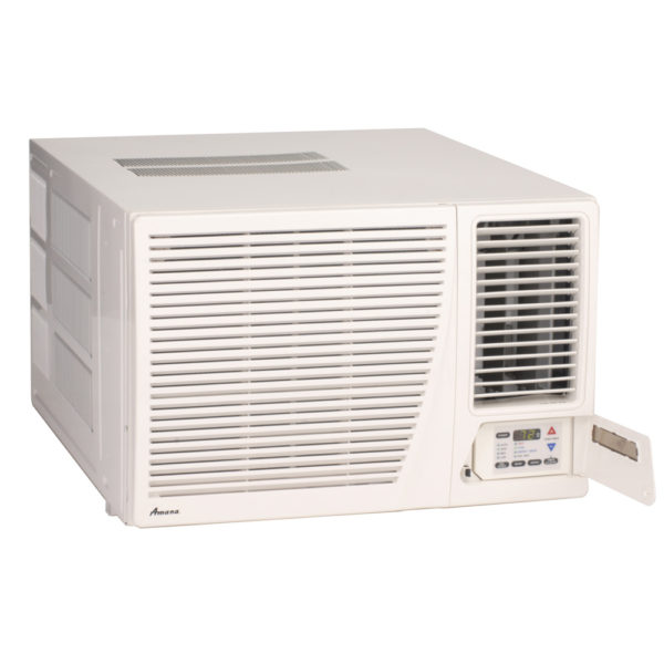 Amana heat cool room air conditioners hamilton home for 12000 btu window air conditioner room size