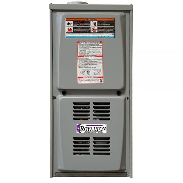 ROYALTON® 80% AFUE Downflow Gas Furnaces w/ ECM Blower Motor
